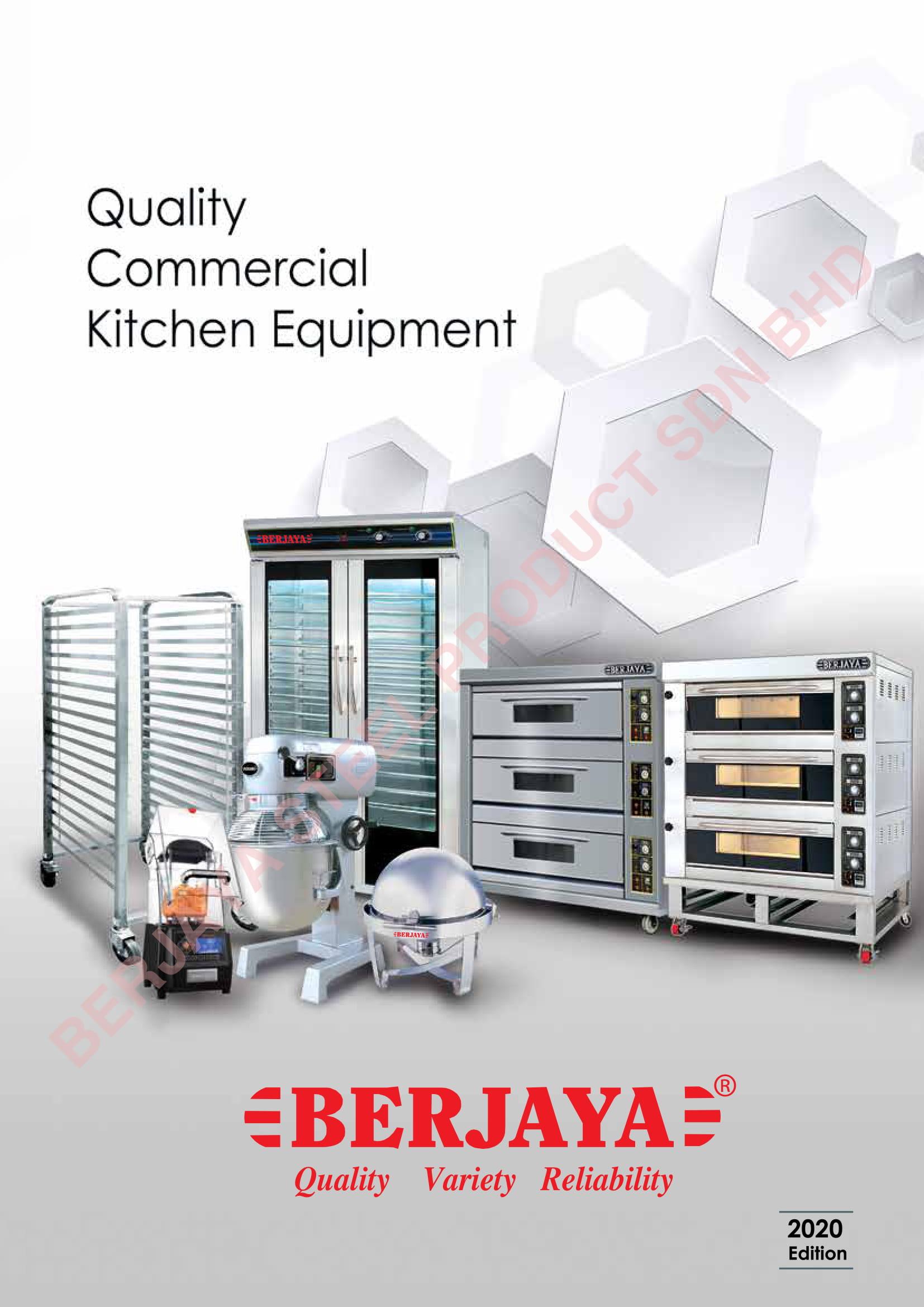 commercial kitchen equipment catalogue