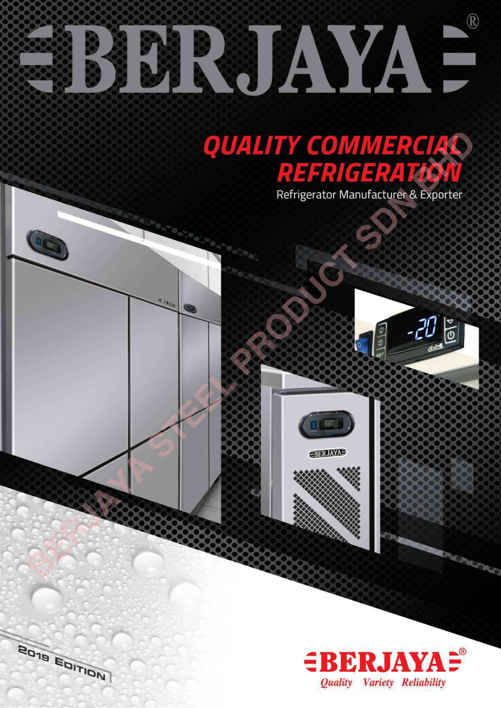 commercial refrigeration catalogue
