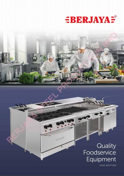food service equipment catalogue